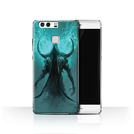 Official Chris Cold Case/Cover for Huawei P9 / Cloaked Devil Design / Dark Art Demon Collection Mobile phones