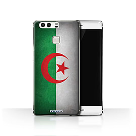 STUFF4 Case/Cover for Huawei P9 / Algeria/Algerian Design / Flags Collection Mobile phones