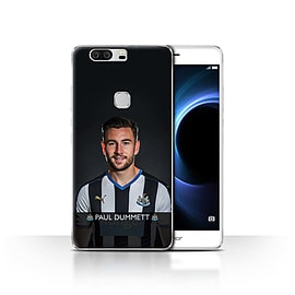 Newcastle United FC Case/Cover for Huawei Honor V8/Dummett Design/NUFC Football Player 15/16 Mobile phones