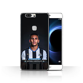 Newcastle United FC Case/Cover for Huawei Honor V8/Lascelles Design/NUFC Football Player 15/16 Mobile phones