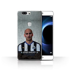 Newcastle United FC Case/Cover for Huawei Honor V8/Shelvey Design/NUFC Football Player 15/16 Mobile phones