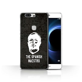 Official Newcastle United FC Case/Cover for Huawei Honor V8/Spanish Maestro Design/NUFC Rafa Ben?tez Mobile phones