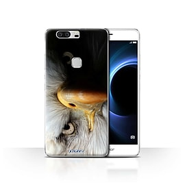 STUFF4 Case/Cover for Huawei Honor V8 / Eagle/Bird of Prey Design / Wildlife Animals Collection Mobile phones