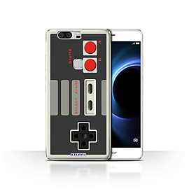 STUFF4 Case/Cover for Huawei Honor V8 / Nintendo Classic Design / Games Console Collection Mobile phones