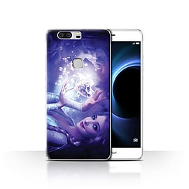 Official Elena Dudina Case/Cover for Huawei Honor V8/Frozen Heart Design/Fairy Tale Character Mobile phones