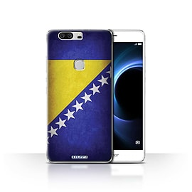 STUFF4 Case/Cover for Huawei Honor V8 / Bosnia & Herzegovina Design / Flags Collection Mobile phones