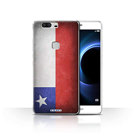 STUFF4 Case/Cover for Huawei Honor V8 / Chile/Chiliean Design / Flags Collection Mobile phones