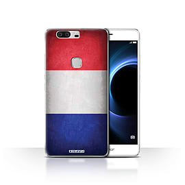 STUFF4 Case/Cover for Huawei Honor V8 / France/French Design / Flags Collection Mobile phones
