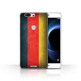 STUFF4 Case/Cover for Huawei Honor V8 / Germany/German Design / Flags Collection Mobile phones