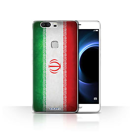 STUFF4 Case/Cover for Huawei Honor V8 / Iran/Iranian Design / Flags Collection Mobile phones