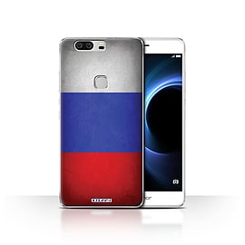 STUFF4 Case/Cover for Huawei Honor V8 / Russia/Russian Design / Flags Collection Mobile phones