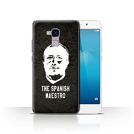 Official Newcastle United FC Case/Cover for Huawei Honor 5c/Spanish Maestro Design/NUFC Rafa Ben?tez Mobile phones