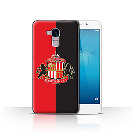 Official Sunderland AFC Case/Cover for Huawei Honor 5c/Red/Black Design/SAFC Football Club Crest Mobile phones