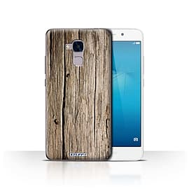 STUFF4 Case/Cover for Huawei Honor 5c / Driftwood Design / Wood Grain Effect/Pattern Collection Mobile phones