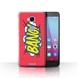 STUFF4 Case/Cover for Huawei Honor 5X/GR5 / Bang! Design / Comics/Cartoon Words Collection Mobile phones