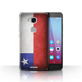 STUFF4 Case/Cover for Huawei Honor 5X/GR5 / Chile/Chiliean Design / Flags Collection Mobile phones