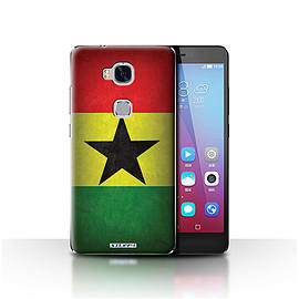 STUFF4 Case/Cover for Huawei Honor 5X/GR5 / Ghana/Ghanaian Design / Flags Collection Mobile phones