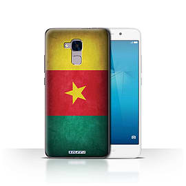 STUFF4 Case/Cover for Huawei Honor 5c / Cameroon/Cameroonian Design / Flags Collection Mobile phones
