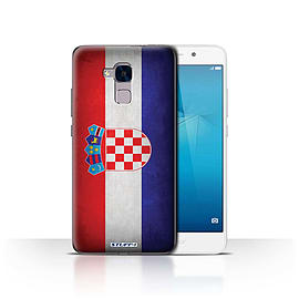 STUFF4 Case/Cover for Huawei Honor 5c / Croatia/Croatian Design / Flags Collection Mobile phones
