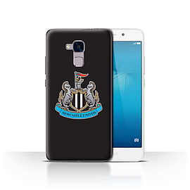 Official Newcastle United FC Case/Cover for Huawei Honor 5c/Colour/Black Design/NUFC Football Crest Mobile phones