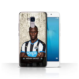 Official Newcastle United FC Case/Cover for Huawei Honor 5c/Saivet Design/NUFC Football Player 15/16 Mobile phones