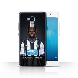 Official Newcastle United FC Case/Cover for Huawei Honor 5c/Tiot? Design/NUFC Football Player 15/16 Mobile phones