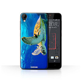 STUFF4 Case/Cover for HTC Desire 825 / Turtle Design / Wildlife Animals Collection Mobile phones