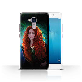 Official Elena Dudina Case/Cover for Huawei Honor 5c/Princess Design/Fairy Tale Character Mobile phones