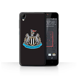 Official Newcastle United FC Case/Cover for HTC Desire 825/Colour/Black Design/NUFC Football Crest Mobile phones