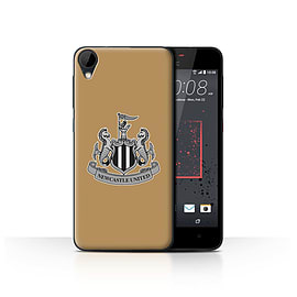 Official Newcastle United FC Case/Cover for HTC Desire 825/Mono/Gold Design/NUFC Football Crest Mobile phones