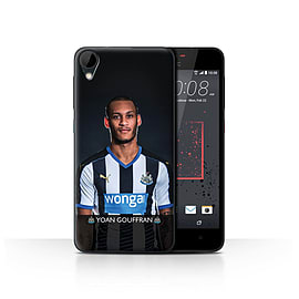 Newcastle United FC Case/Cover for HTC Desire 825/Gouffran Design/NUFC Football Player 15/16 Mobile phones