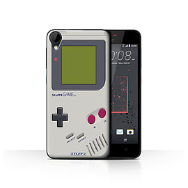 STUFF4 Case/Cover for HTC Desire 825 / Nintendo Game Boy Design / Games Console Collection Mobile phones
