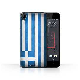 STUFF4 Case/Cover for HTC Desire 825 / Greece/Greek Design / Flags Collection Mobile phones
