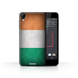 STUFF4 Case/Cover for HTC Desire 825 / Ireland/Irish Design / Flags Collection Mobile phones