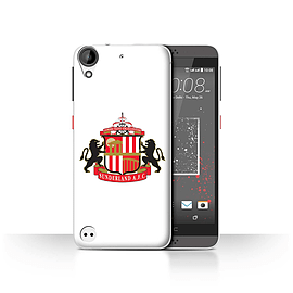 Official Sunderland AFC Case/Cover for HTC Desire 630/White Design/SAFC Football Club Crest Mobile phones