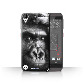 STUFF4 Case/Cover for HTC Desire 530 / Gorilla/Monkey Design / Wildlife Animals Collection Mobile phones