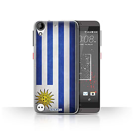 STUFF4 Case/Cover for HTC Desire 530 / Uruguay/Uruguayan Design / Flags Collection Mobile phones