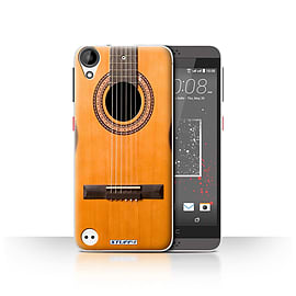 STUFF4 Case/Cover for HTC Desire 530 / Wood/Wooden Acoustic Design / Guitar Collection Mobile phones