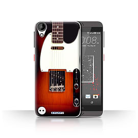 STUFF4 Case/Cover for HTC Desire 530 / Sunburst Electric Design / Guitar Collection Mobile phones