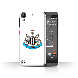 Official Newcastle United FC Case/Cover for HTC Desire 530/Colour/White Design/NUFC Football Crest Mobile phones