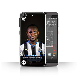 Official Newcastle United FC Case/Cover for HTC Desire 530/Doumbia Design/NUFC Football Player 15/16 Mobile phones