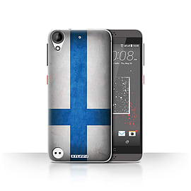 STUFF4 Case/Cover for HTC Desire 630 / Finland/Finnish Design / Flags Collection Mobile phones
