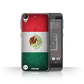 STUFF4 Case/Cover for HTC Desire 630 / Mexico/Mexican Design / Flags Collection Mobile phones