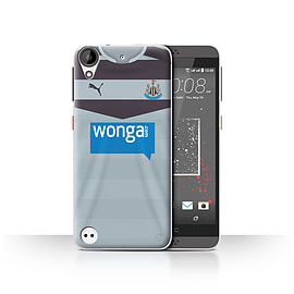 Newcastle United FC Case/Cover for HTC Desire 630/Goalkeeper Design/NUFC Away Shirt/Kit 15/16 Mobile phones