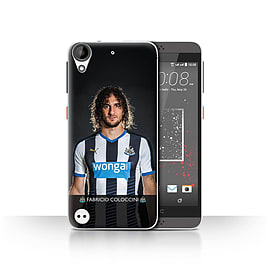 Newcastle United FC Case/Cover for HTC Desire 630/Coloccini Design/NUFC Football Player 15/16 Mobile phones