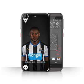 Official Newcastle United FC Case/Cover for HTC Desire 630/Mbemba Design/NUFC Football Player 15/16 Mobile phones