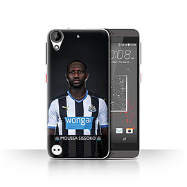 Official Newcastle United FC Case/Cover for HTC Desire 630/Sissoko Design/NUFC Football Player 15/16 Mobile phones