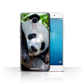 STUFF4 Case/Cover for Huawei Honor 5c / Panda Bear Design / Wildlife Animals Collection Mobile phones