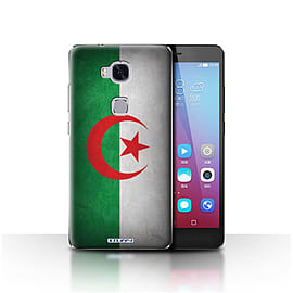 STUFF4 Case/Cover for Huawei Honor 5X/GR5 / Algeria/Algerian Design / Flags Collection Mobile phones