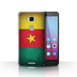 STUFF4 Case/Cover for Huawei Honor 5X/GR5 / Cameroon/Cameroonian Design / Flags Collection Mobile phones